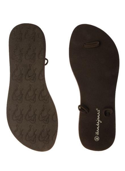 bandajanas slippers laag bruin