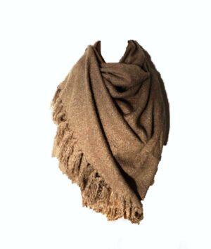 Bandajanas sjaal taupe