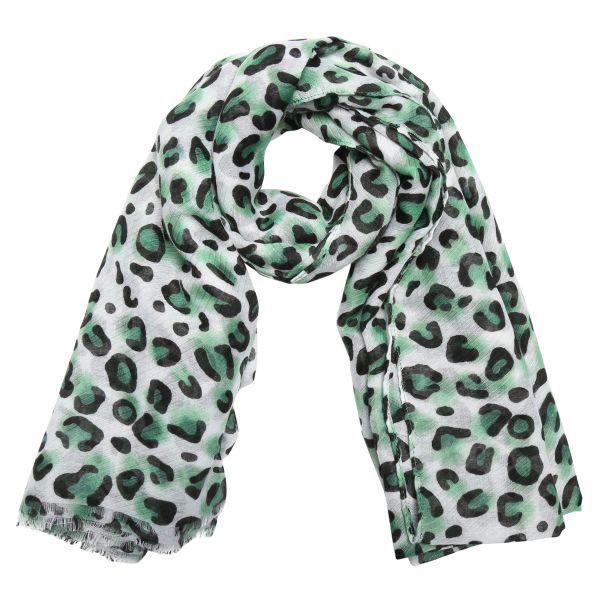 bandajanas sjaal leopard groen