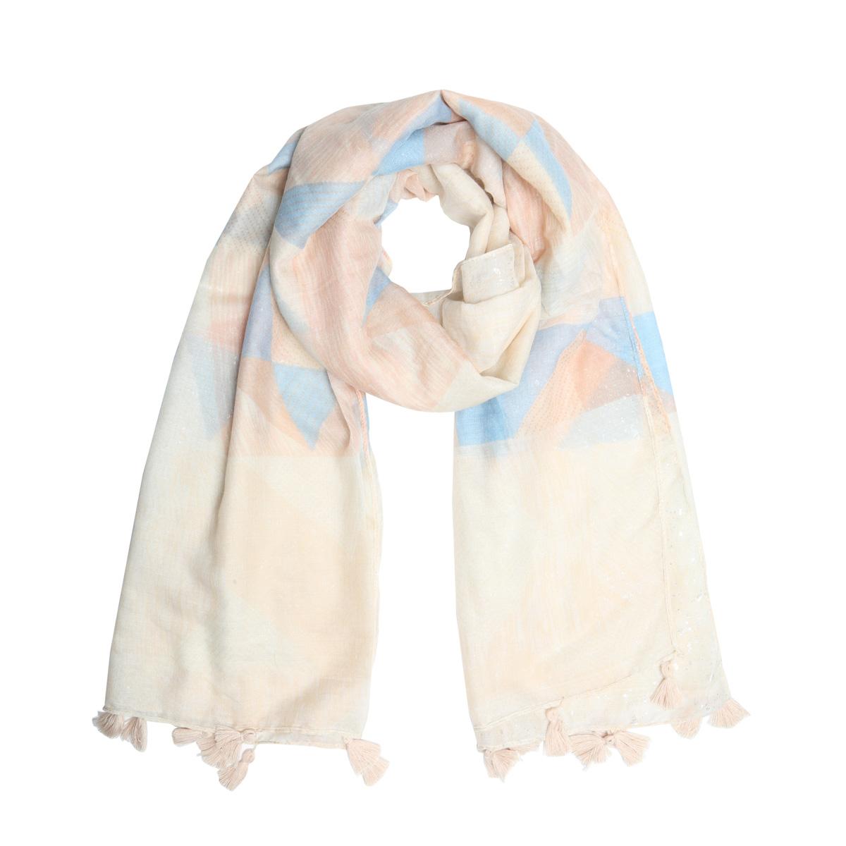 bandajanas sjaal pastel