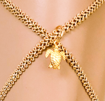 Bandajanas band goud schildpad