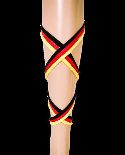 bandajanas bandenset rood zwart geel